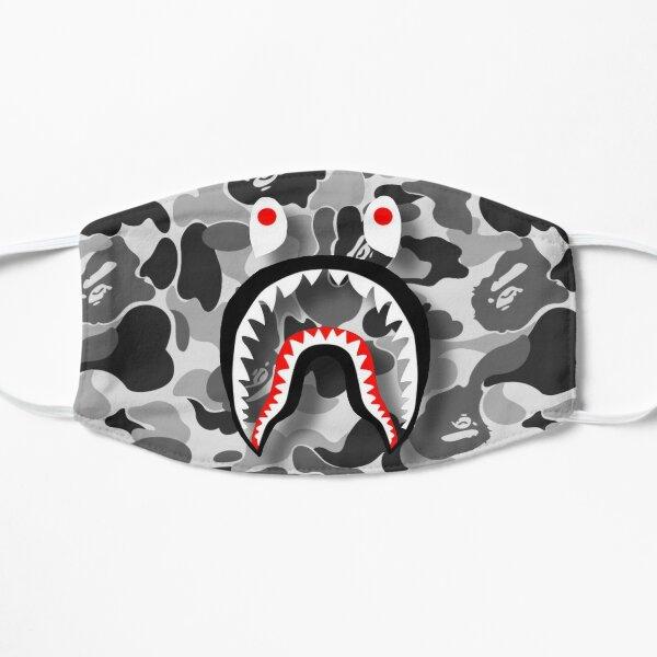 Black Bape Shark (clear mouth) Mask
