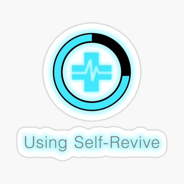 Using Self Revive in Warzone Style Sticker