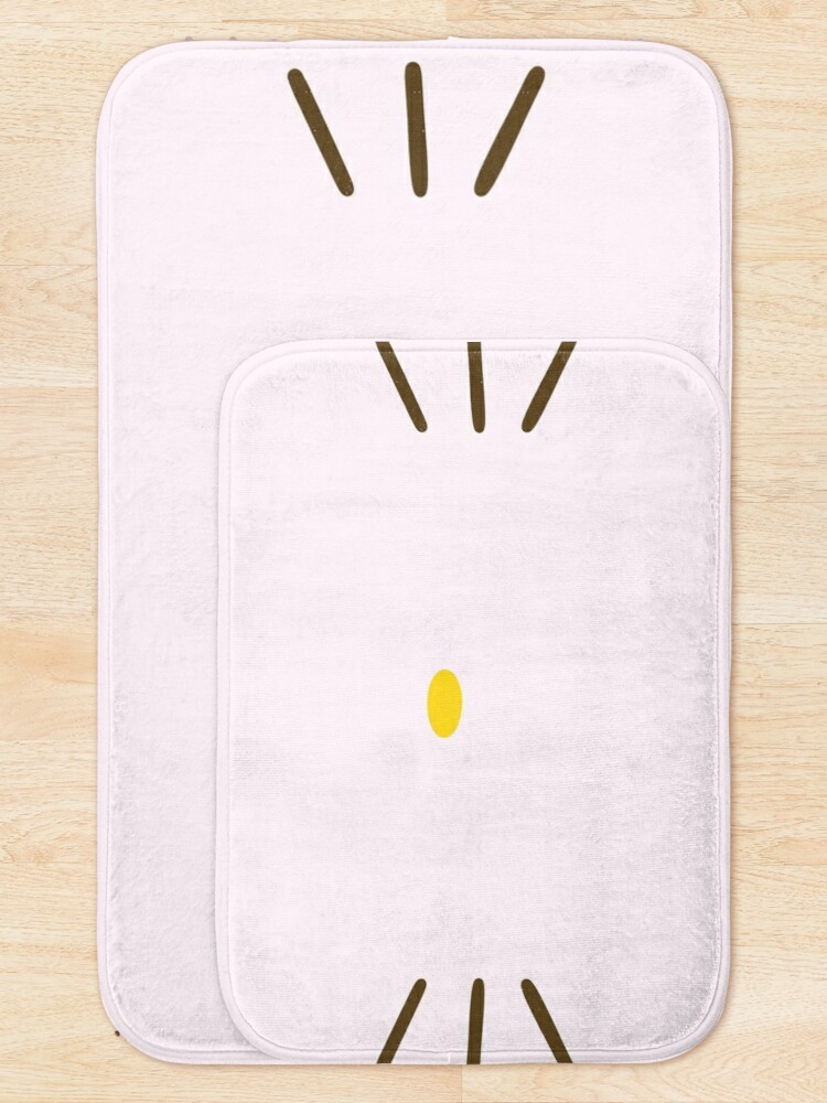 Alternate view of Cute Pink Kitty Whiskers Bath Mat