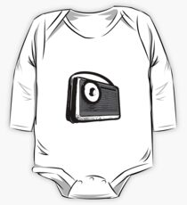 TRANSISTOR RADIO PORTABLE  One Piece - Long Sleeve