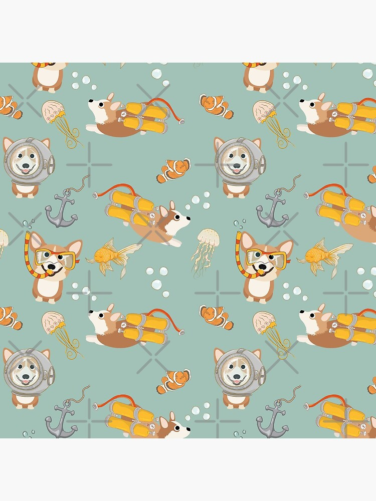 My Corgi World - Majesty Pembroke - Cute welsh cardigan corgis are diving by Corgiworld