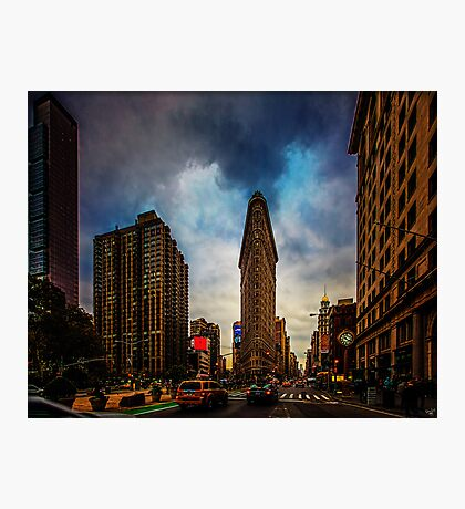 New York City, The Flatiron District Photographic Print