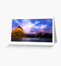 Swift current Lake at Sunrise Greeting Card