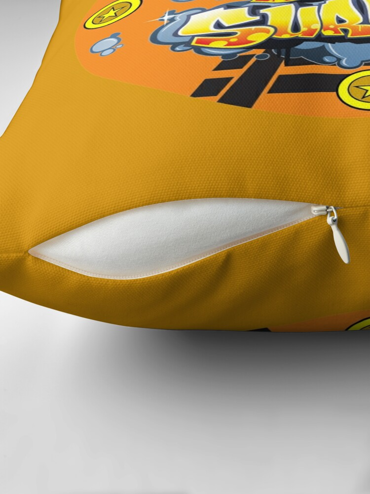 Alternate view of subwaysurfers, subway surfers, subsurf Floor Pillow