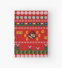 Super Mario Ugly Sweater Hardcover Journal