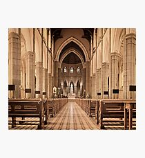 St. Patricks Cathedral, Melbourne Photographic Print