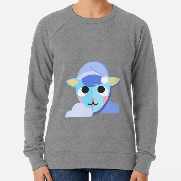Sleepy Sherb | Animal Crossing Lightweight Sweatshirt