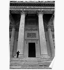 Putting the Pantheon in perspective - Paris, France Poster
