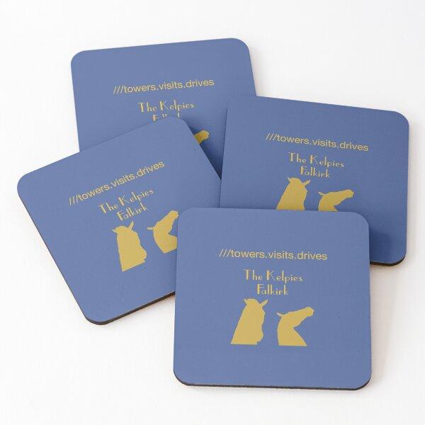 The Kelpies Falkirk Coasters (Set of 4)