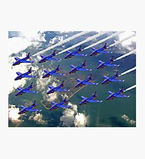 16 Ship Diamond - The Blue Diamonds  Photographic Print