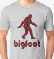Bigfoot Red Tiger Unisex T-Shirt