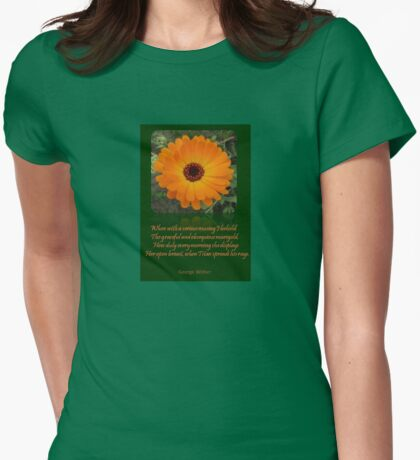 When A Serious Musing I Behold Verse Greeting T-Shirt