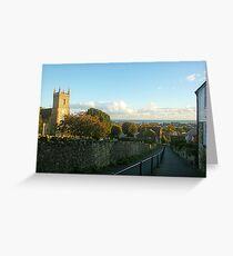 Church Hill . Hythe . Kent  Greeting Card