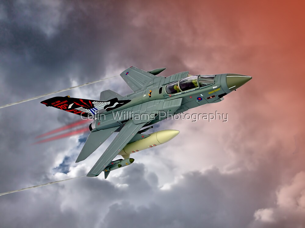 Storming !! Tornado GR4 617 Squadron by Colin  Williams Photography