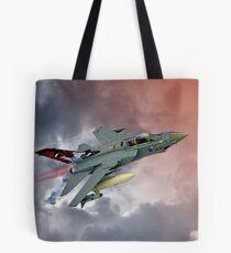 Storming !! Tornado GR4 617 Squadron Tote Bag