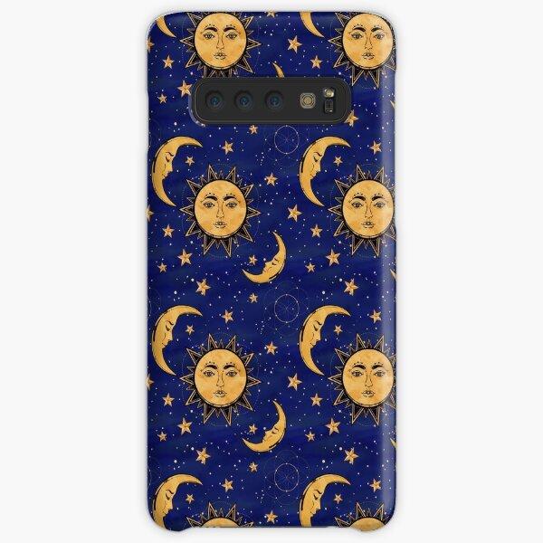 Vintage moon and sun stars celestial Samsung Galaxy Snap Case