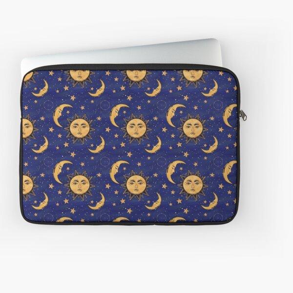 Vintage moon and sun stars celestial Laptop Sleeve