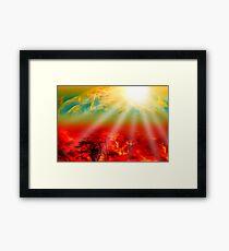 Hell on Earth Framed Print