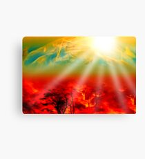Hell on Earth Canvas Print