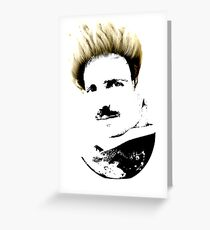 Postmodern Tesla Greeting Card