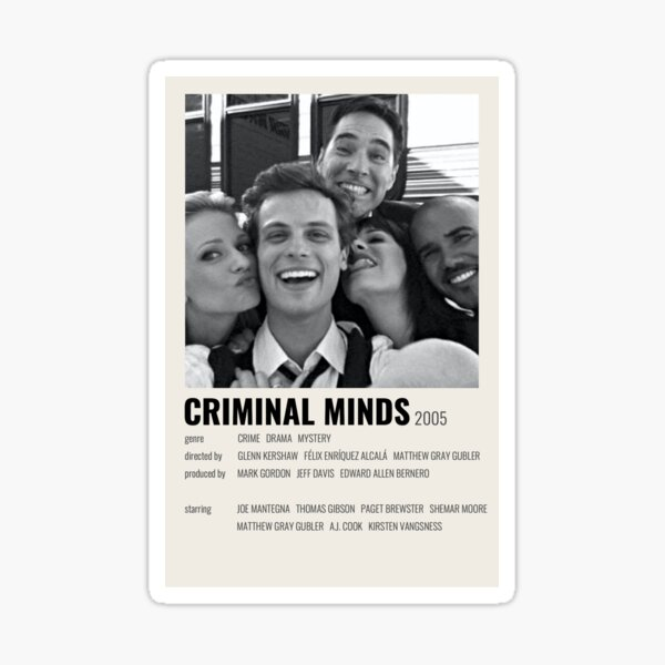 criminal minds alternative Sticker