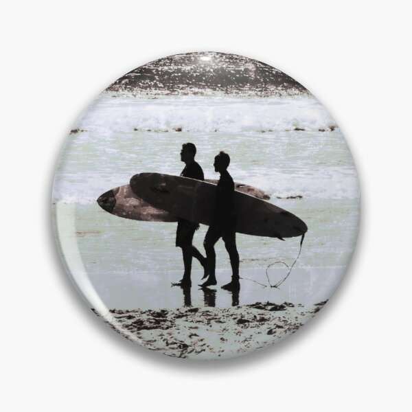 Father and Son Pin