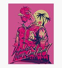 Hotline Miami - Richard Photographic Print