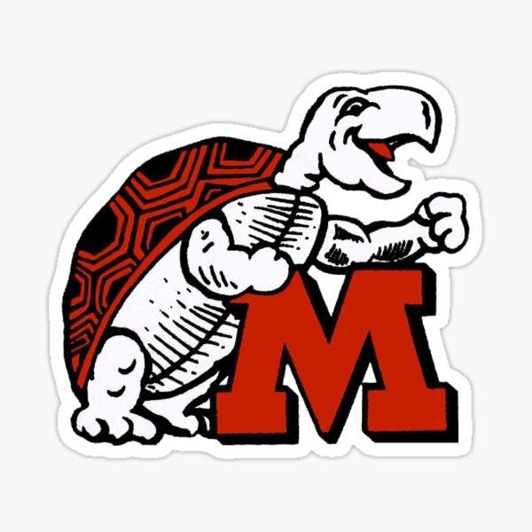 Old UMD Logo Sticker