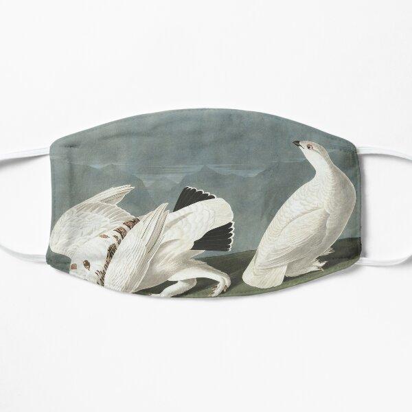 Top Best of Birds Ptarmigan Tshirt Birds of America Cottagecore JJ Audubon Flat Mask