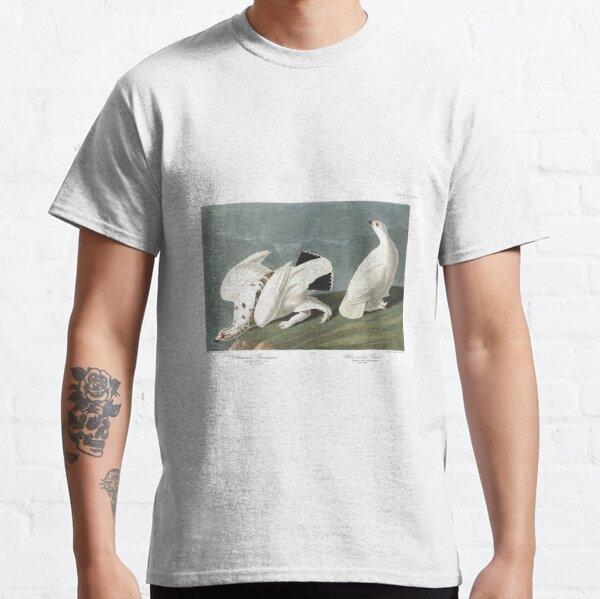 Top Best of Birds Ptarmigan Tshirt Birds of America Cottagecore JJ Audubon Classic T-Shirt