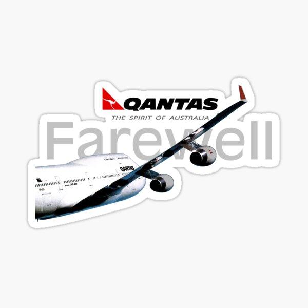 QANTAS 747 FAREWELL Sticker
