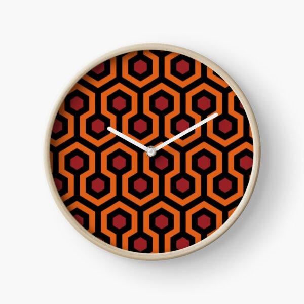 The Shining Overlook Pattern Clock