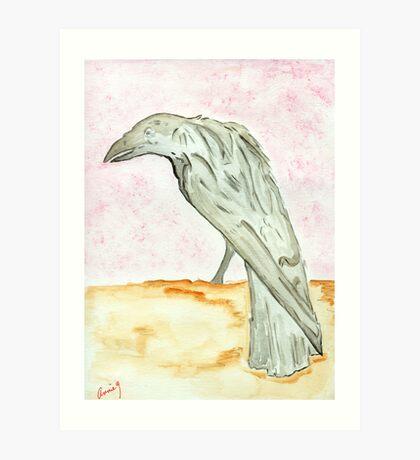 The Raven…Nevermore Art Print