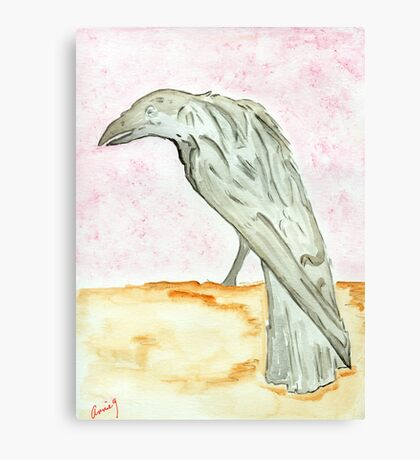 The Raven…Nevermore Canvas Print