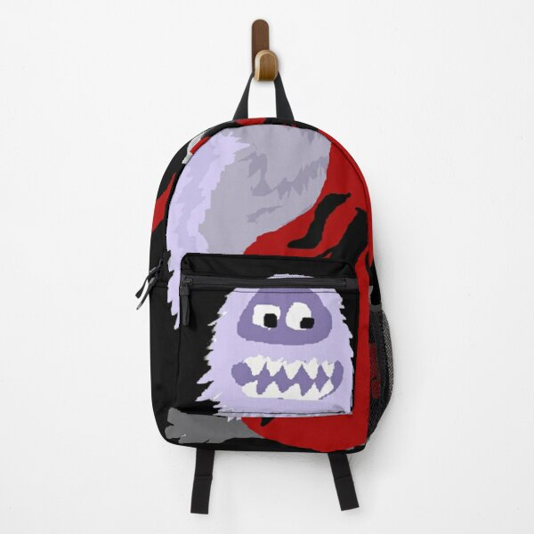 Funky Cool Abominable Snowman Playing Cello Art Backpack