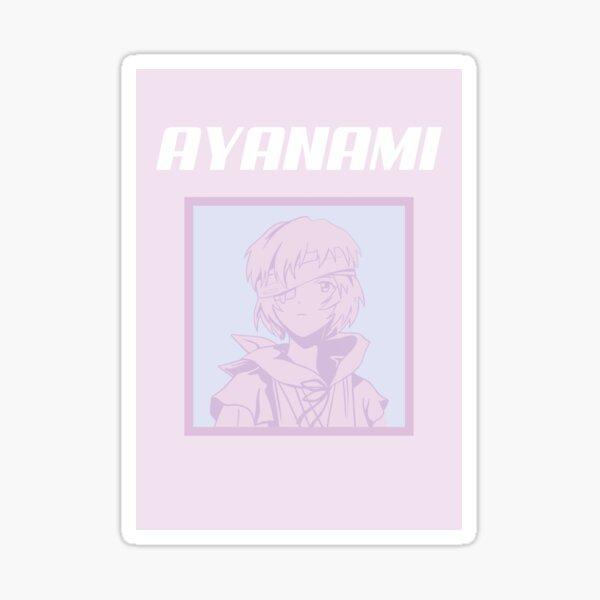 anime girl rose ayanami Sticker