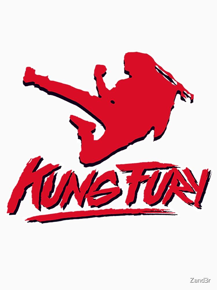 Kung Fury T-Shirt by Zand3r