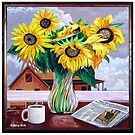 'Contemplating Sunflowers, New Home Construction & the War in Iraq' by Jerry Kirk