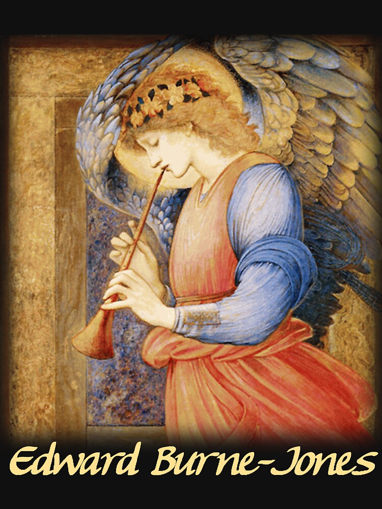 Burne-Jones - An Angel Playing a Flageolet by carpediem6655
