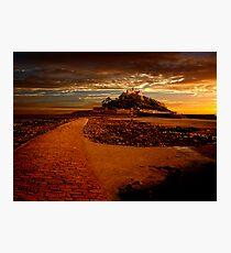 St Michaels Mount Photographic Print