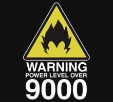 WARNING: Power Level Over 9000 | Unisex T-Shirt