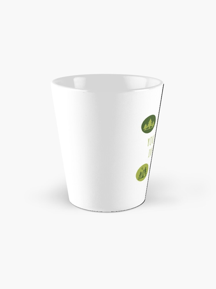 Alternate view of You'll Find Me in the Forest Collection  Mug