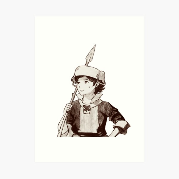 Donnel Art Print