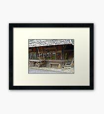 Alt Schweiz Framed Print