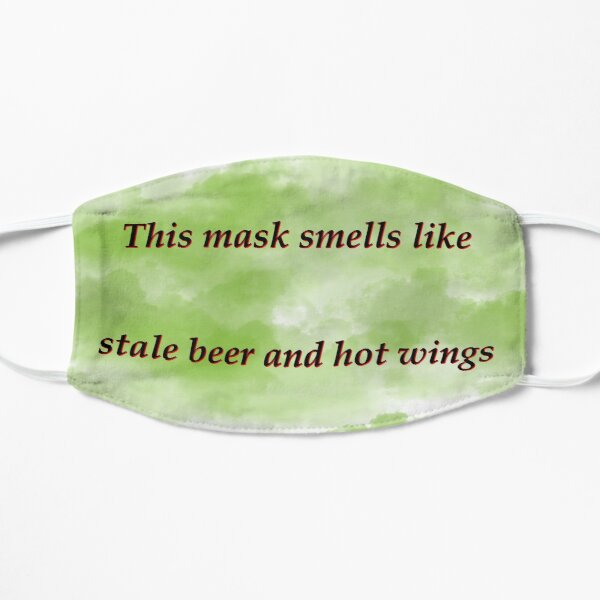 Stale beer and wings Mask