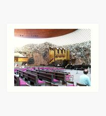 Inside the Cathedral in the Rock, Helsinki Art Print