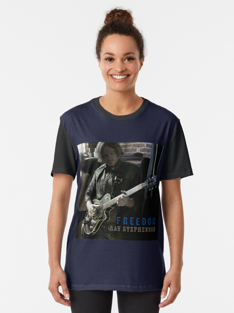 Alternate view of Freedom Graphic T-Shirt