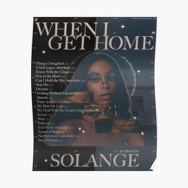 Solange Artwork Poster