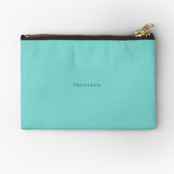 Tiffany Blue w/ Logo  Zipper Pouch
