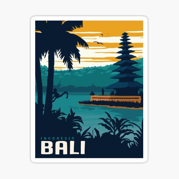Bali poster Sticker